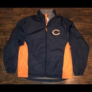 Chicago Bears NFL Windbreaker with Thermal lining